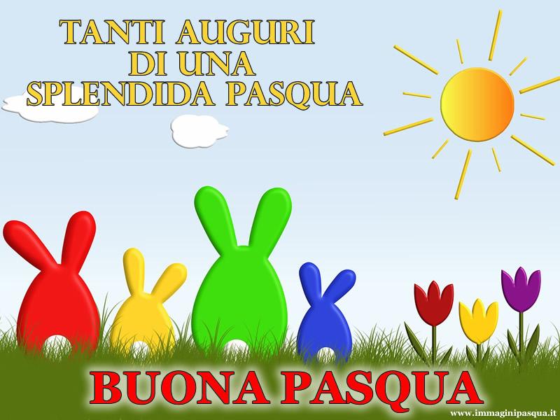 I migliori auguri Pasqua