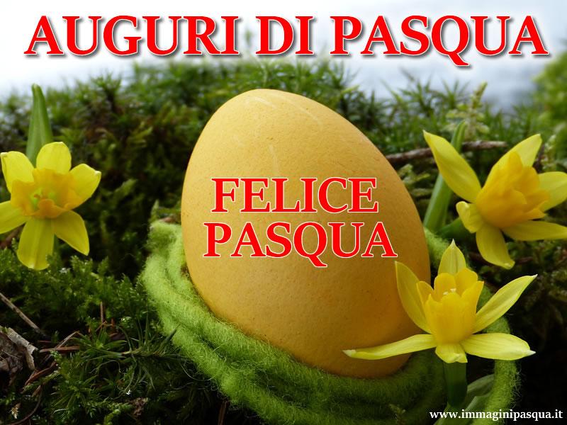 Immagine Auguri Felice Pasqua