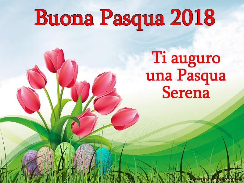Auguri Buona Pasqua 2018
