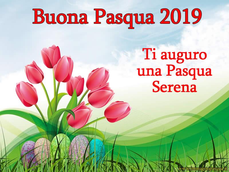 Auguri Buona Pasqua 2019